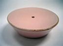 Pink soap dish